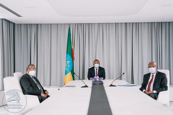 Ethiopian PM _ Sudanese PM