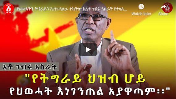 Secession of Tigray risky, says Gebru Asrat