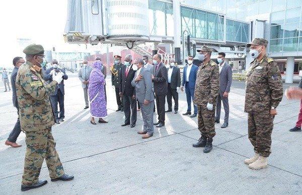 Sudanese Delegation _ Ethiopia