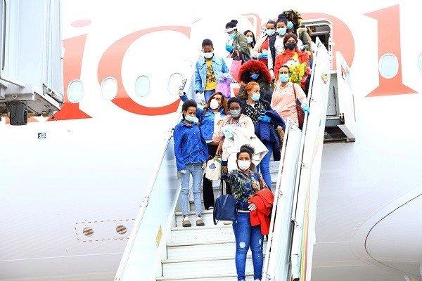 Ethiopia repatriated more Ethiopian migrants from Lebanon