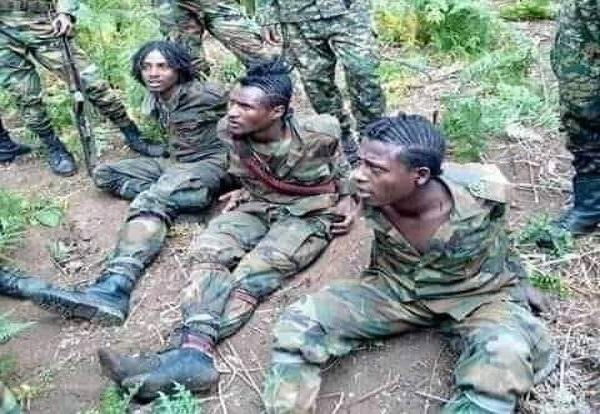 Ethiopia _ OLF armed wing soldiers _ Oromo
