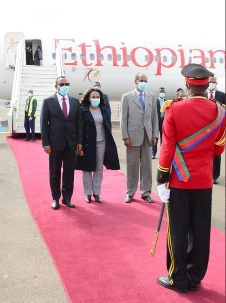 Ethiopian PM _ Eritrean President