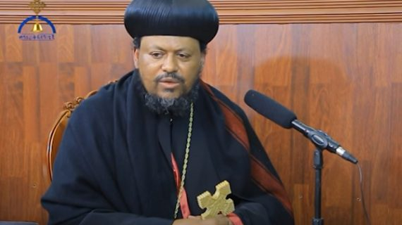 Archbishop Henok speaks out about massacre of Orthodox Christians