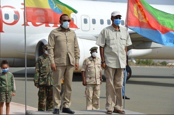 Ethiopian PM _ Eritran president