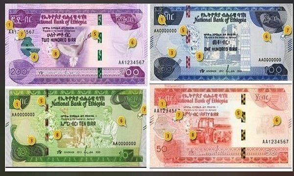 Ethiopia _ New banknotes