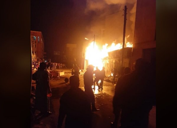 Bole Fire _ Addis Ababa