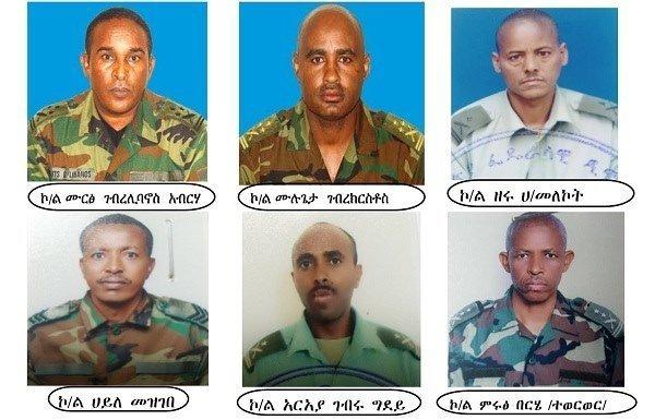 Ethiopia _ Military officers _ treason