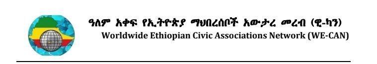 Worldwide Ethiopian Civic Associations Network _ Lawmakers