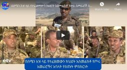 The slaughter on northern command of Ethiopian Defense force