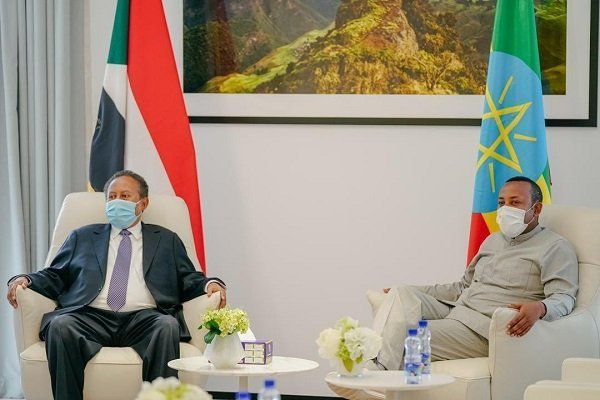 Sudanese PM _ Abiy Ahmed _ Abdella Hamdok