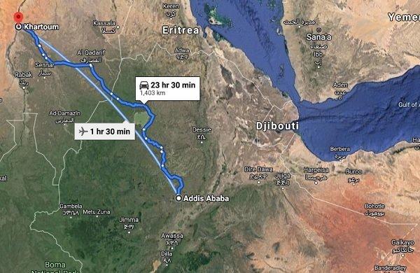 Addis Ababa _ Khartoum Railway line