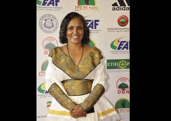 Derartu Tulu, President of Ethiopian Athletics Federation