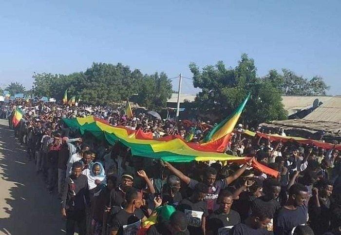 Maikadra Protest _ Ethiopia