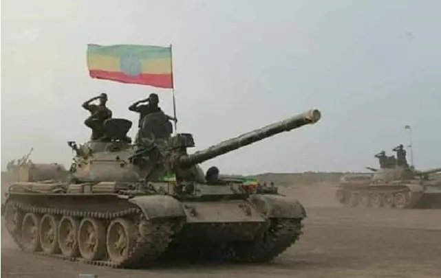 Ethiopian Defense Force Salute _ Barbaric end of TPLF