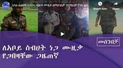 Sebhat Nega's conversation with the Defense Force reporter