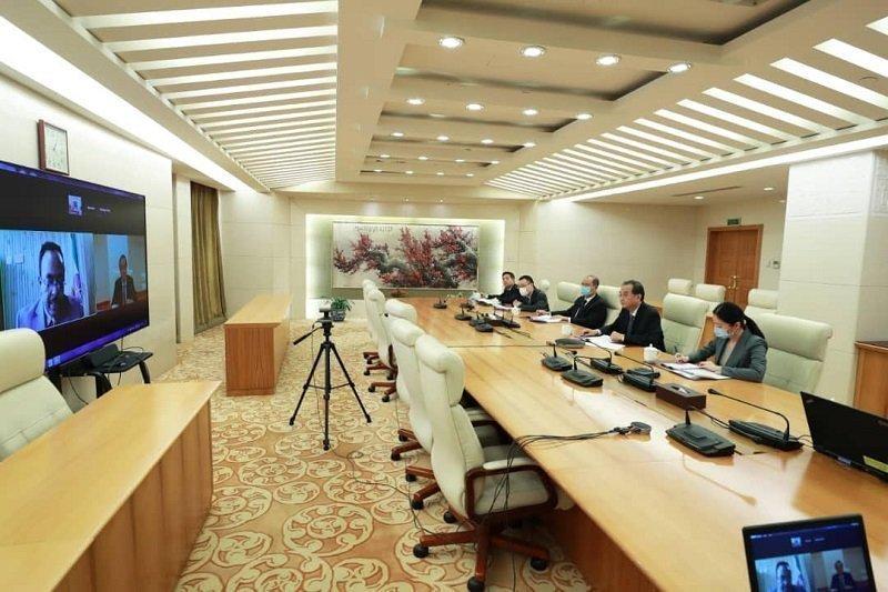 political consultation  _ China _ Ethiopia