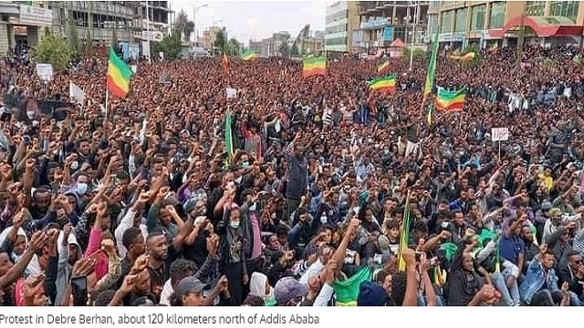Amhara Genocide _ Protest