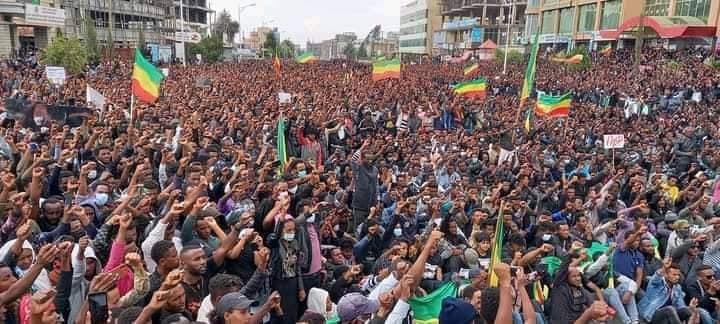 Protestors _ Bahir Dar