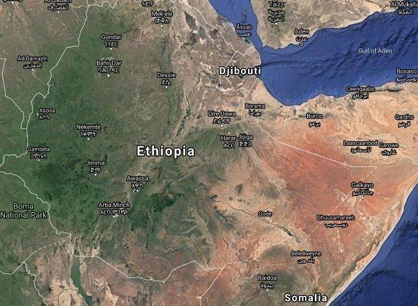 Ethiopia _ Map