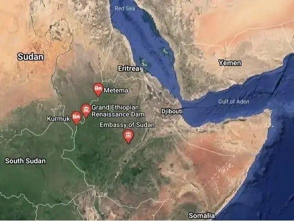 Sudan _ Ethiopia border