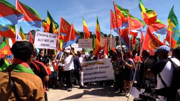 Ethiopians _ Eritreans _ Protest