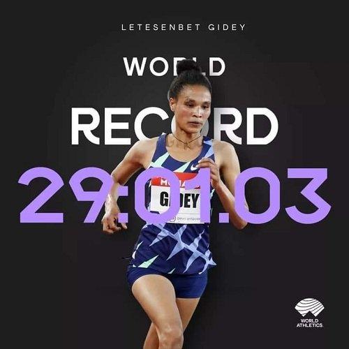 Letesenbet New Word Record