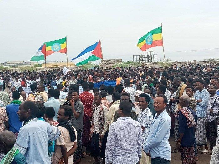 Afar region _ protest