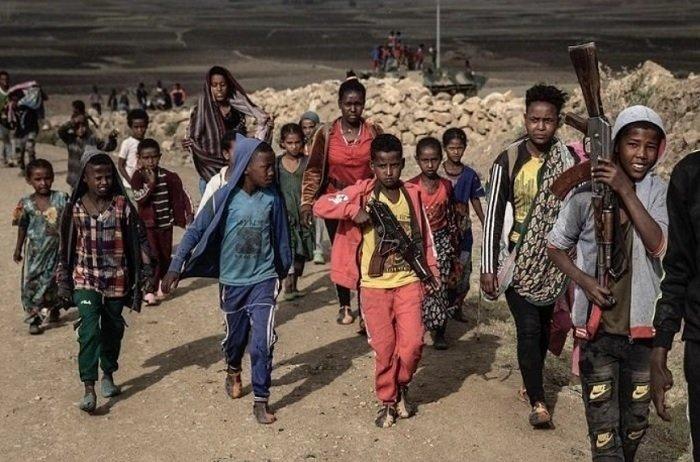 child soldiers  _ Ethiopia