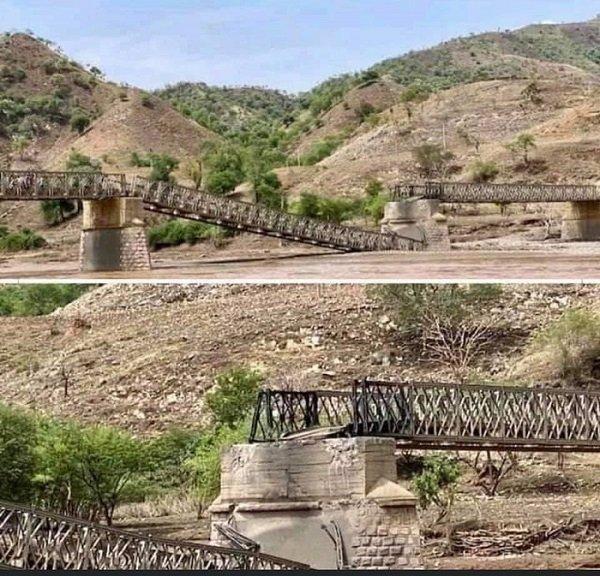 Tekeze river _ Tekeze bridge