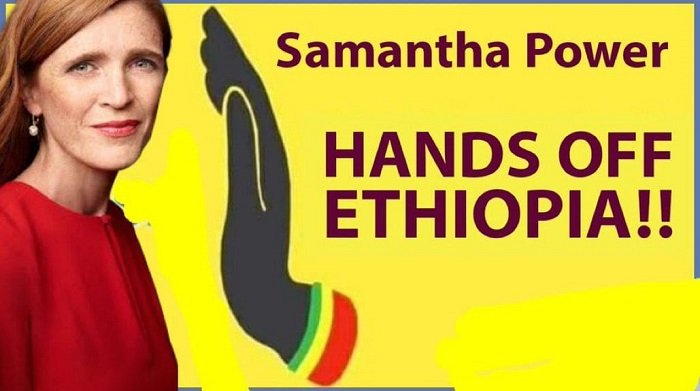 Samantha Power, USAID Administrator, visiting Ethiopia