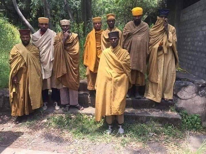 Waldeba Monastery monks