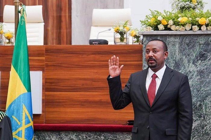 Abiy Ahmed Ali _ Sworn in