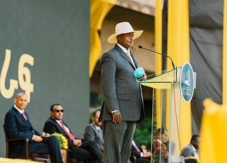 Ugandan President _ Ethiopia speech